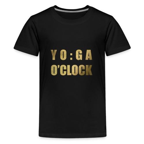 YOGA o'clock - Teenager Premium T-shirt