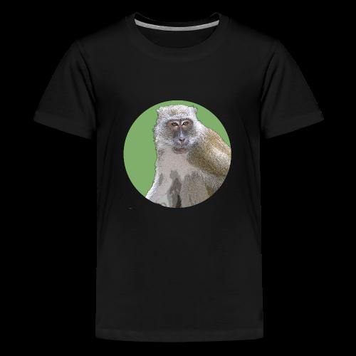 Makaken grün Malaysia - Teenager Premium T-Shirt
