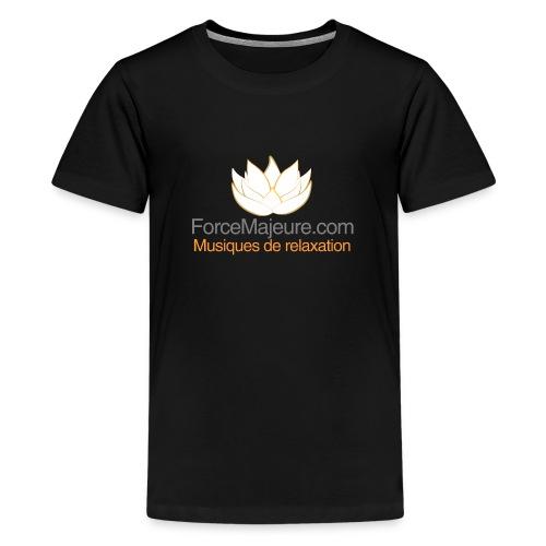 gros logo pour t shirt - T-shirt Premium Ado