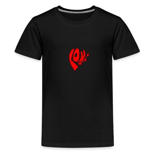 Love, Liebe - Teenager Premium T-Shirt