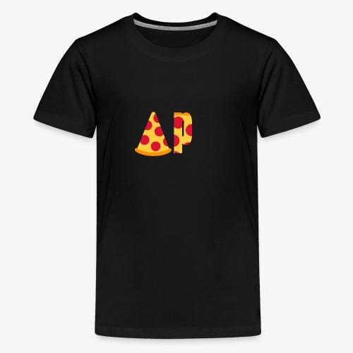 Artic pizzas official logo - Premium T-skjorte for tenåringer