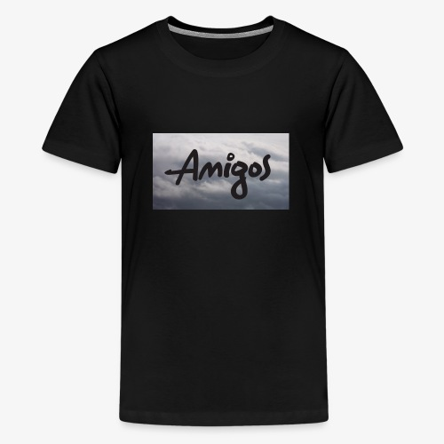 NEW AmigoBro Logo - Teenage Premium T-Shirt