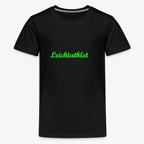 Leichtathlet - Teenager Premium T-Shirt