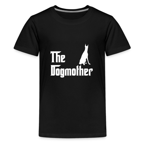 The Dogmother white dobermann - Teenager Premium T-Shirt