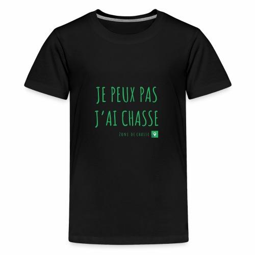 Chasseur et fier. - T-shirt Premium Ado