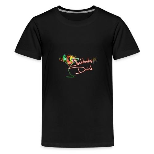cocktailsdrink shirt - Camiseta premium adolescente