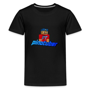 Pinotuber Minecraft - Teenager Premium T-shirt