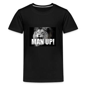 Man up - Premium T-skjorte for tenåringer