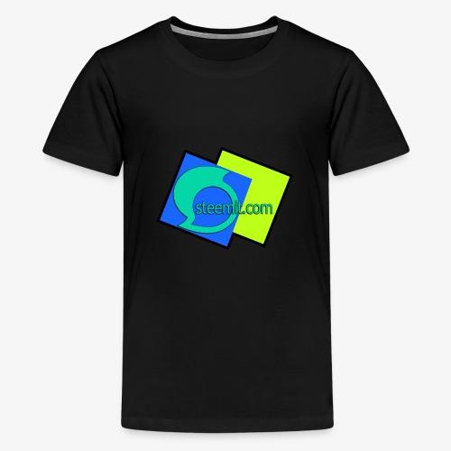 Steemit.com Promotion T - Teenage Premium T-Shirt