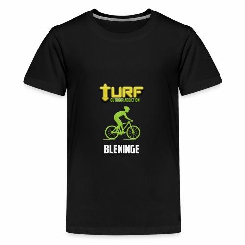 TURF - BLEKINGE - Premium-T-shirt tonåring