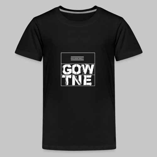 GOWENTGONE logo HP - Teenager Premium T-Shirt