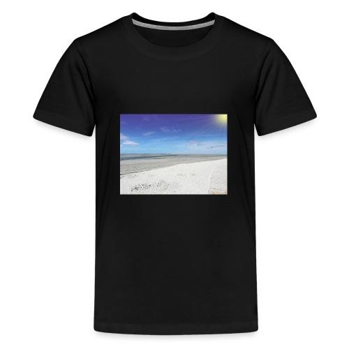 The Beach- La plage - T-shirt Premium Ado
