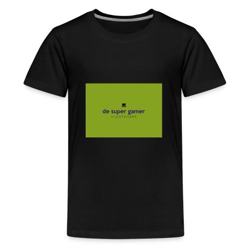 De super gamer - Teenager Premium T-shirt
