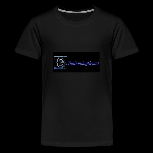 grand picture for black - Teenage Premium T-Shirt