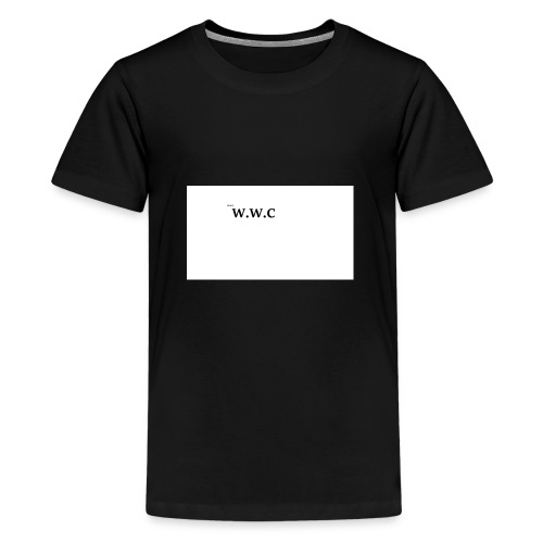 White Wolf Clothing - Teenager premium T-shirt