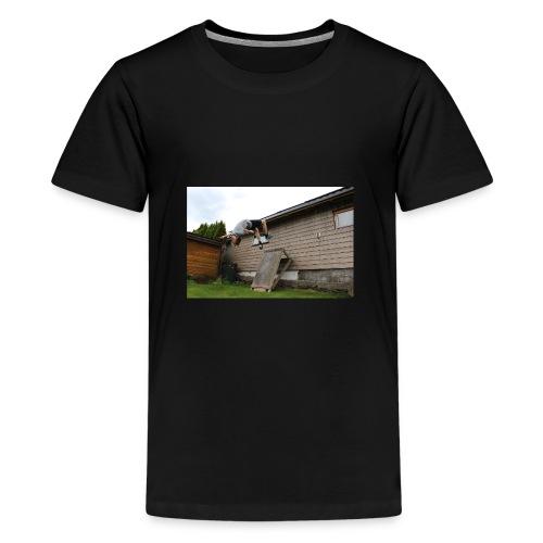flipping - Premium T-skjorte for tenåringer