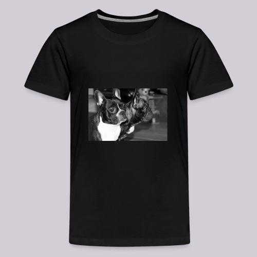 Frenchies - Teenage Premium T-Shirt