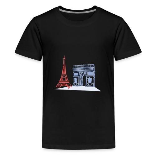 Paris - T-shirt Premium Ado
