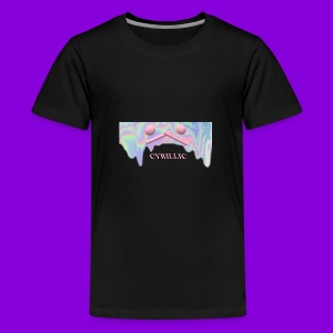 CYRILLIC NEON GLUE - Teenage Premium T-Shirt