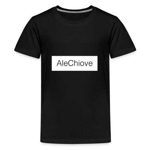 T-Shirt AleChiove - Maglietta Premium per ragazzi