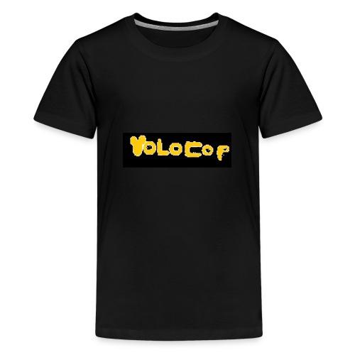 Pixelart YOLOCOP - Teenager Premium T-Shirt