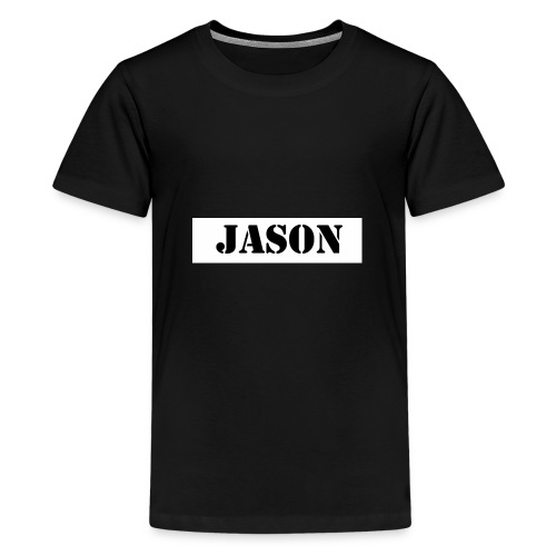 Hey ho hoffe euch gefallen die sachem - Teenager Premium T-Shirt