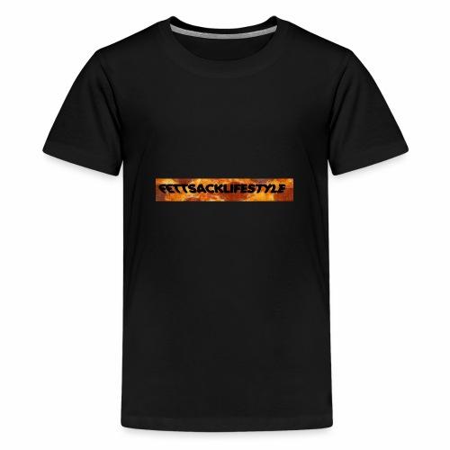 FETTSACKLIFESTYLE - Teenager Premium T-Shirt