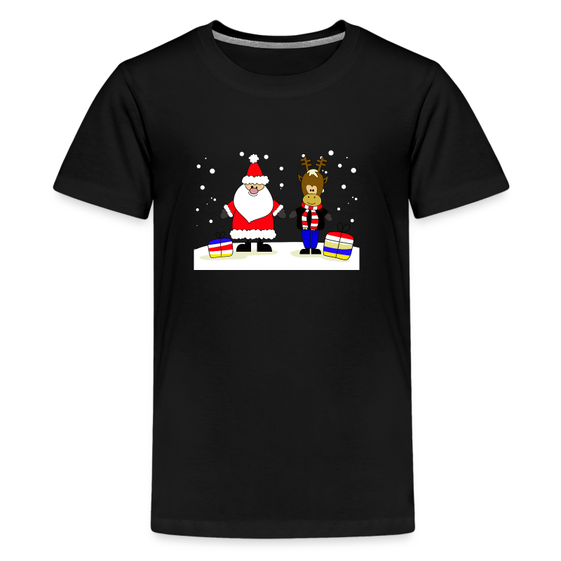 Christmas Collection - Premium T-skjorte for tenåringer
