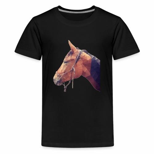 Safiro Polygon - Teenager Premium T-Shirt