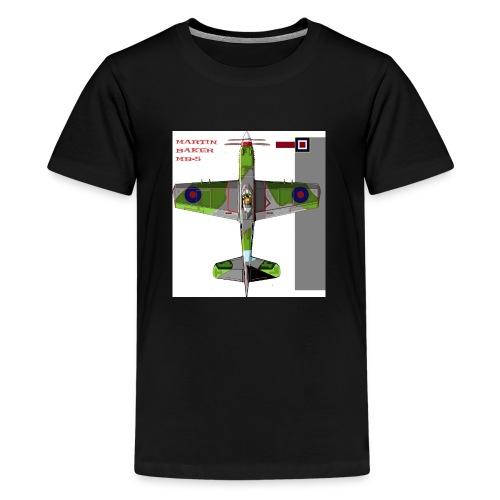 Martin Baker MB 5 - Teenage Premium T-Shirt