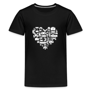 Game of Heart - T-shirt Premium Ado