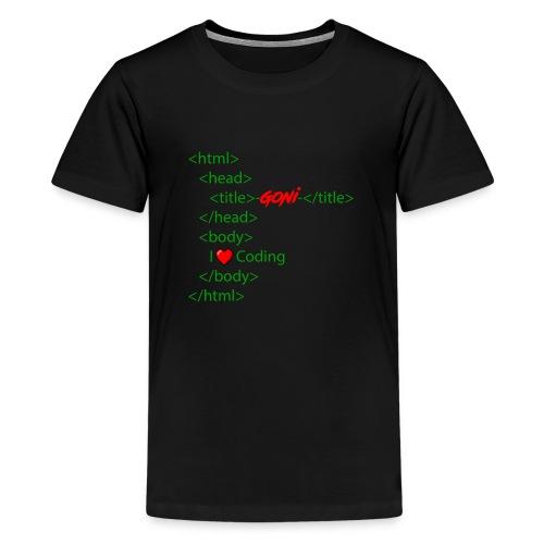 Html Grundgerüst - Teenager Premium T-Shirt