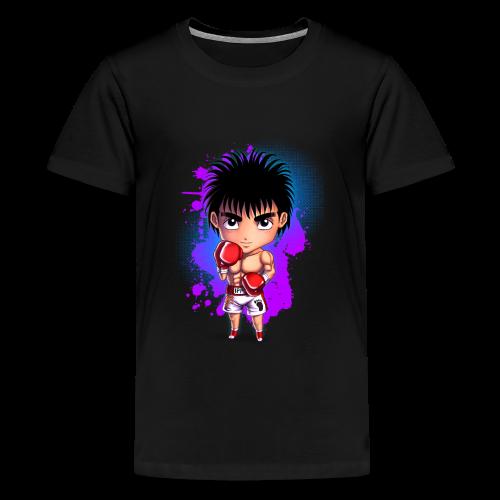 Boxing Chibi - Teenage Premium T-Shirt