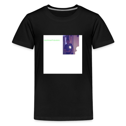 Abid Ahmed productions2 - Teenage Premium T-Shirt