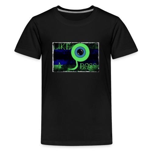 JSE LIKE A BOSS! - Teenage Premium T-Shirt