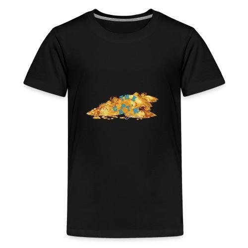 Captain Merch Logo - Teenage Premium T-Shirt
