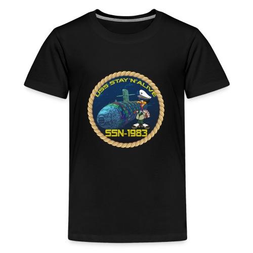 Command Badge SSN-1983 - Teenage Premium T-Shirt