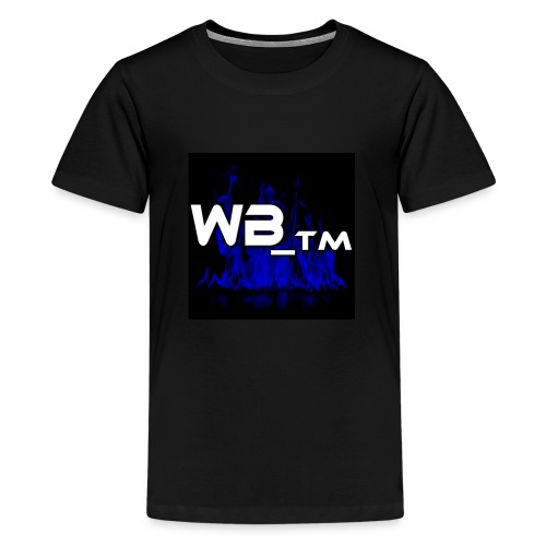 WB TM LOGO - Teenage Premium T-Shirt