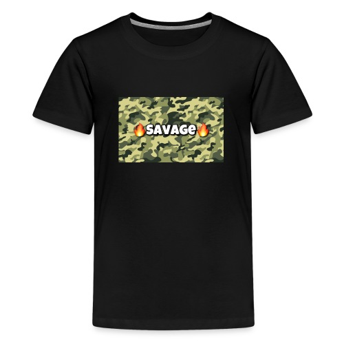 Savage - Teenager Premium T-Shirt
