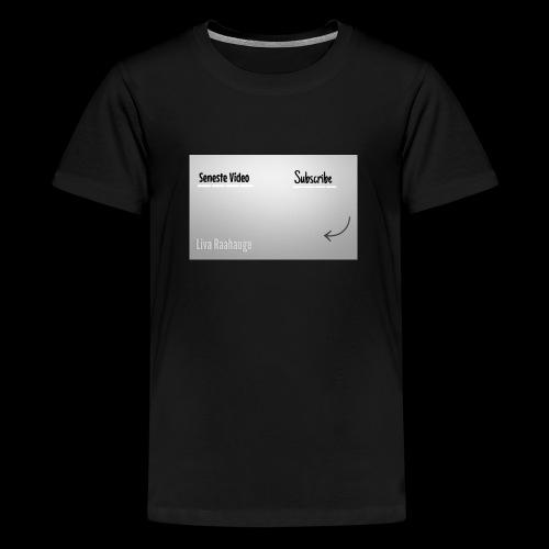 Raahauge Merch - Teenager premium T-shirt