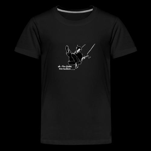 Auf der Schaukel oder oh the chains are broken - Teenager Premium T-Shirt
