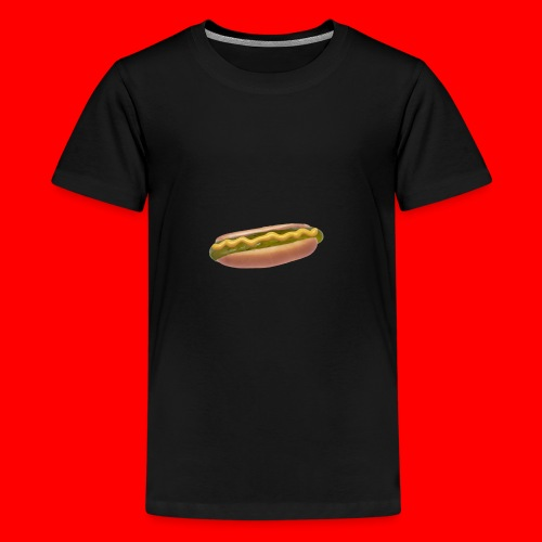 Suolakurkku Hodari - Teinien premium t-paita