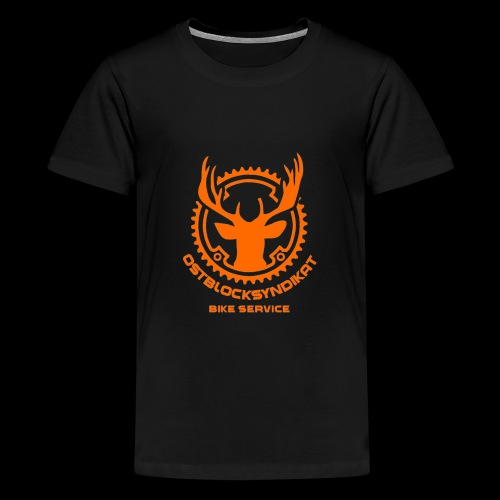 LOGO Orange - Teenager Premium T-Shirt