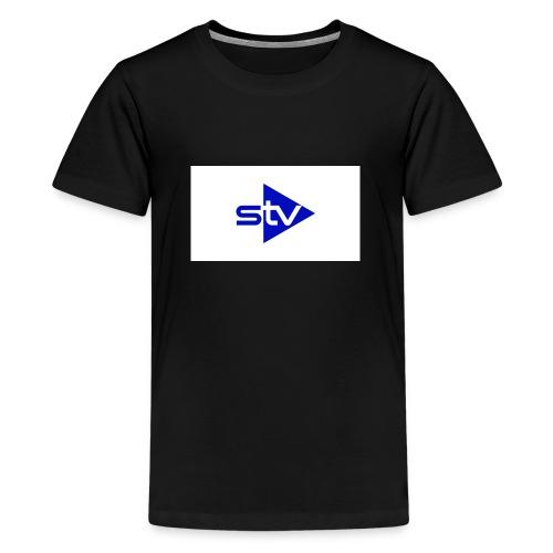Skirä television - Premium-T-shirt tonåring
