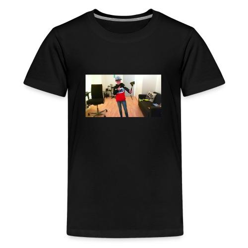 vlogger - Premium T-skjorte for tenåringer