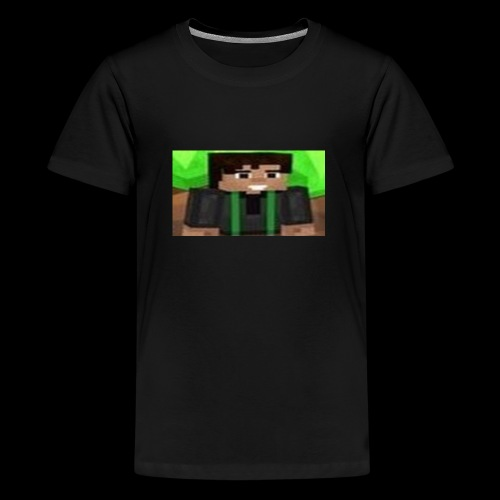 EnZ PlayZ Profile Pic - Teenage Premium T-Shirt