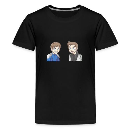 BAD PANDA & EPIC MONSTER - T-shirt Premium Ado