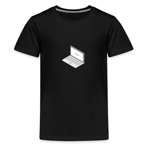 Laptop - Teenager Premium T-Shirt