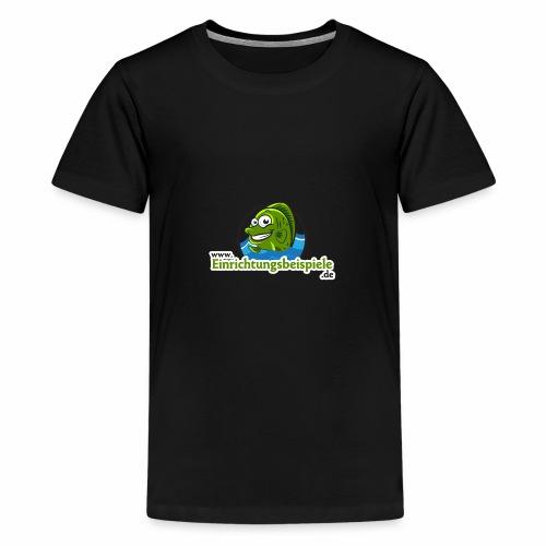 Einrichtungsbeispiele.de Logo - Teenager Premium T-Shirt