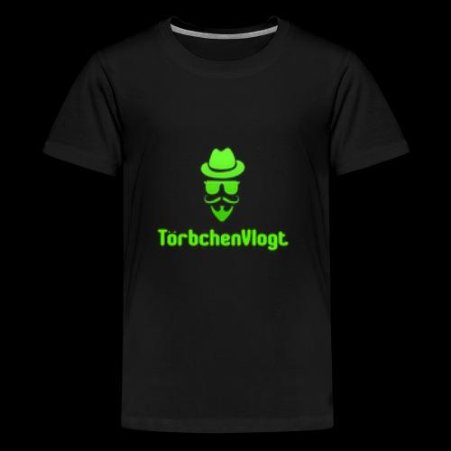 TörbchenVlogt Logo - Teenager Premium T-Shirt